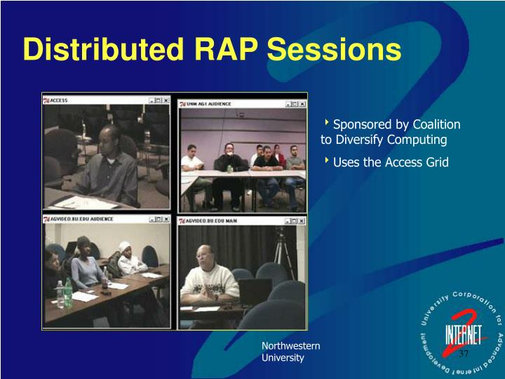 Distributed RAP Sessions