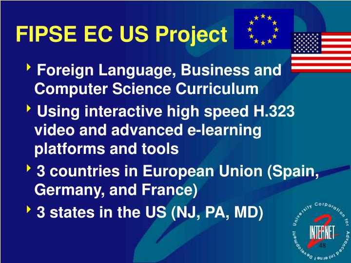 FIPSE EC US Project
