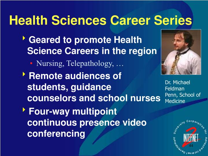 Health Sciences Career Series