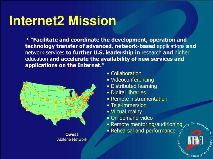 Internet2 Mission