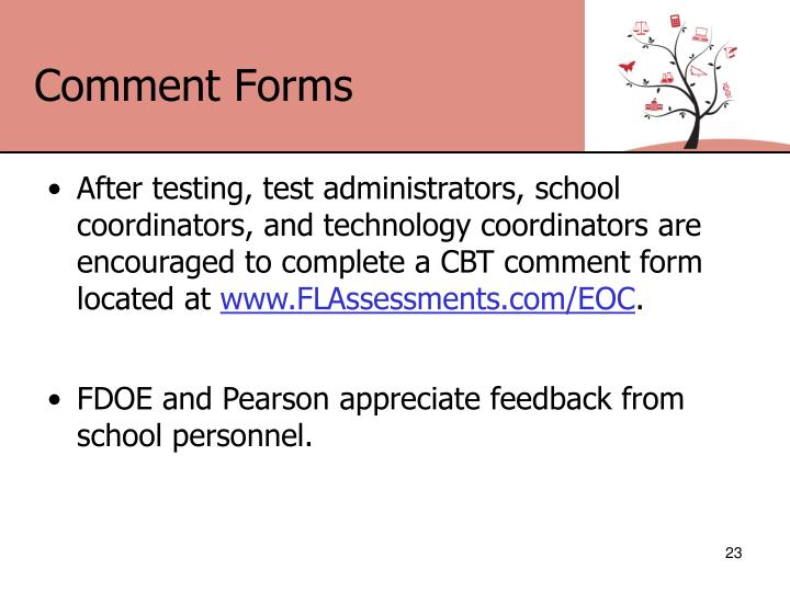 Comment Forms