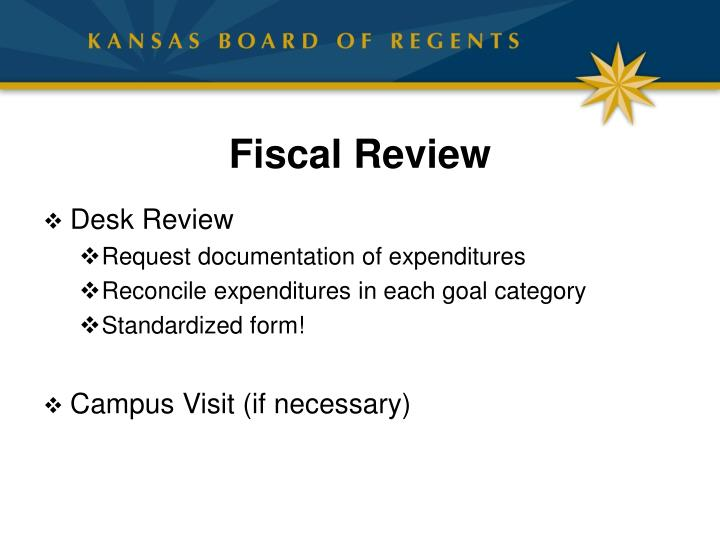 Fiscal Review