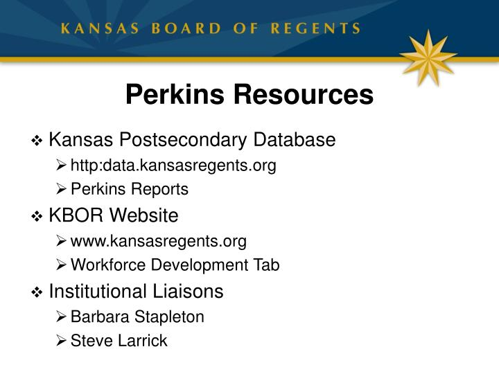 Perkins Resources