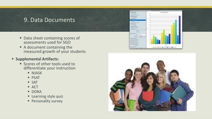 9. Data Documents