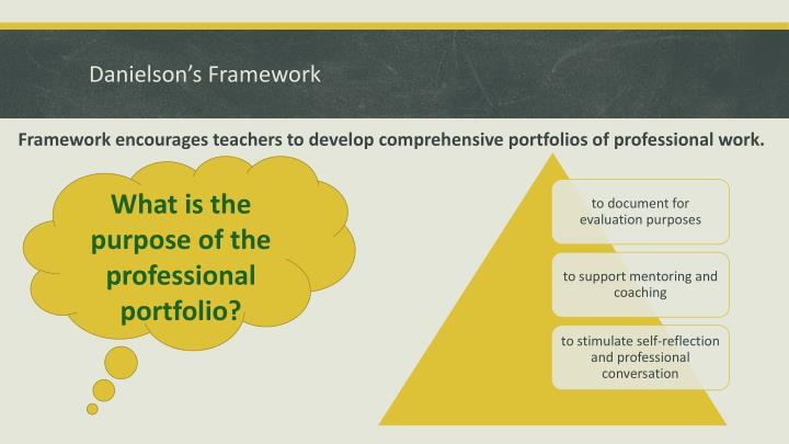 Danielson's Framework