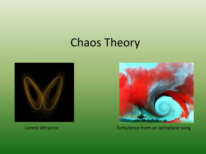 chaos theory in nursing Abstract the traditional approach to science is an empirical or cause-and-effect one, where answers to research questions come about deductively nursing has followed this path in its attempt to establish a knowledge base difficulty occurs when nurses attempt to develop strategies to solve nursing problems involving human systems using this reductionistic approach human systems are complex.