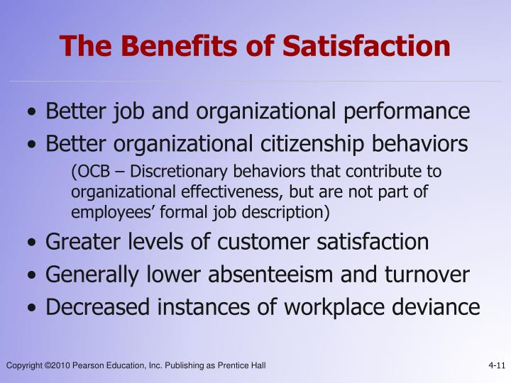 thesis on job satisfaction and employee performance