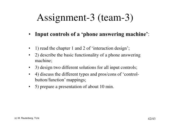 Assignment-3 (team-3)
