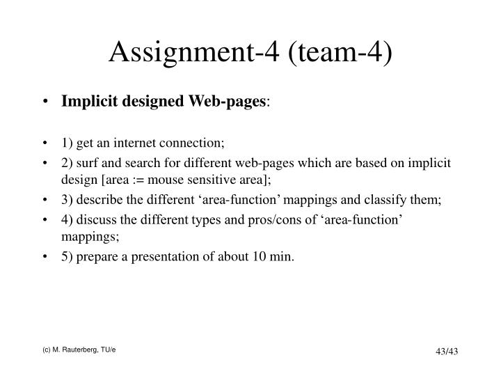 Assignment-4 (team-4)