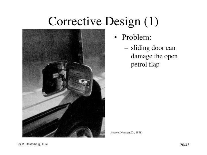 Corrective Design (1)