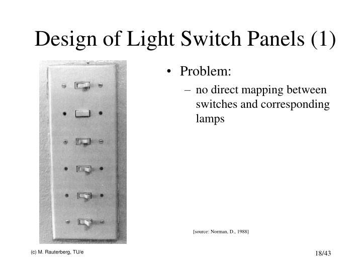 Design of Light Switch Panels (1)