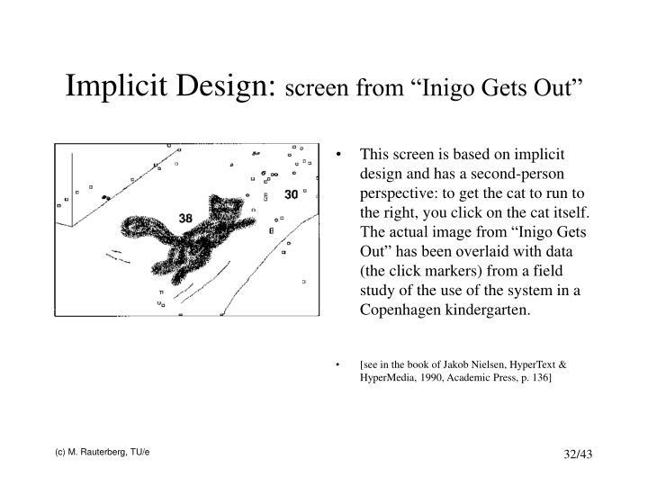 Implicit Design: