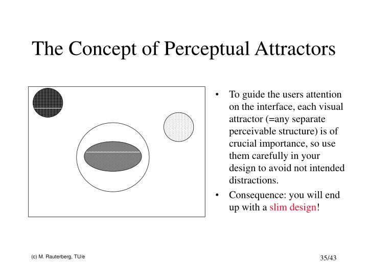 The Concept of Perceptual Attractors
