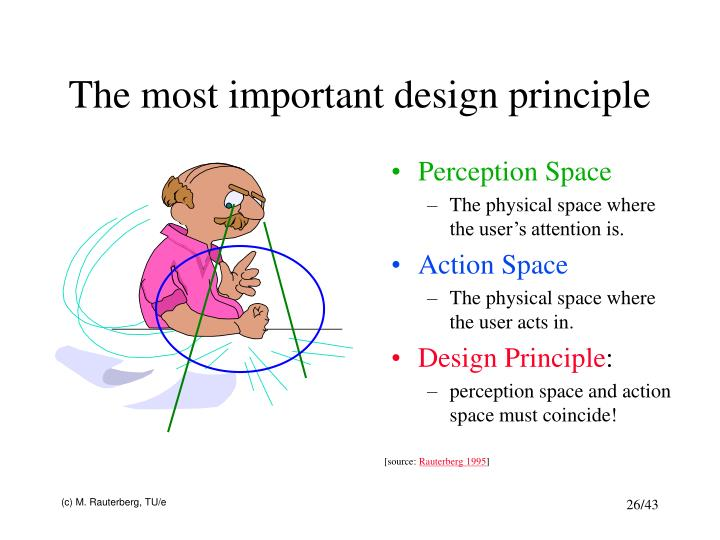 The most important design principle