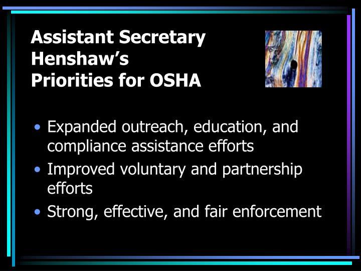 Assistant Secretary