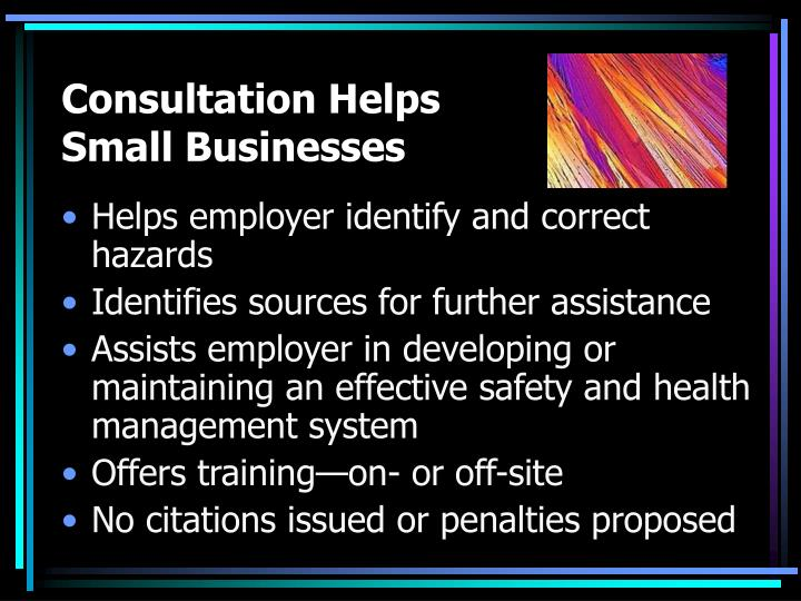 Consultation Helps