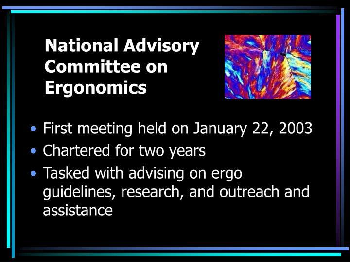 National Advisory