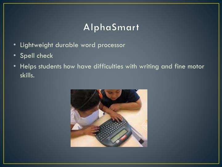 AlphaSmart