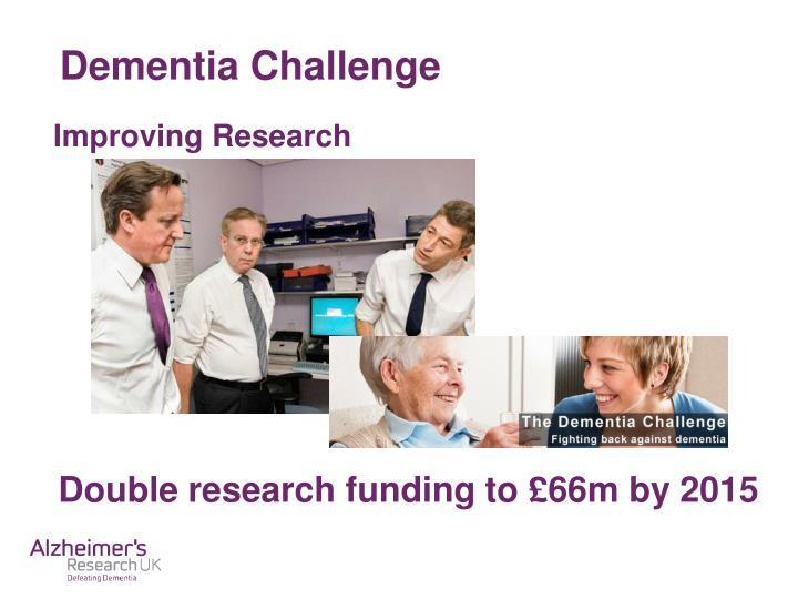 Dementia Challenge