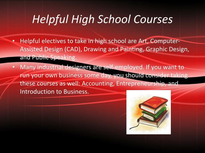 Helpful High School Courses