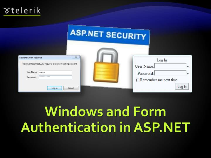 Windows and Form Authentication in ASP.NET