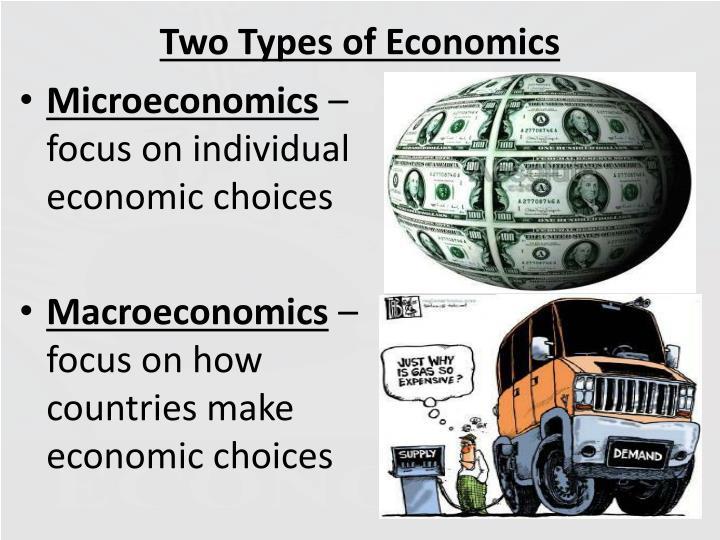 Two Types of Economics