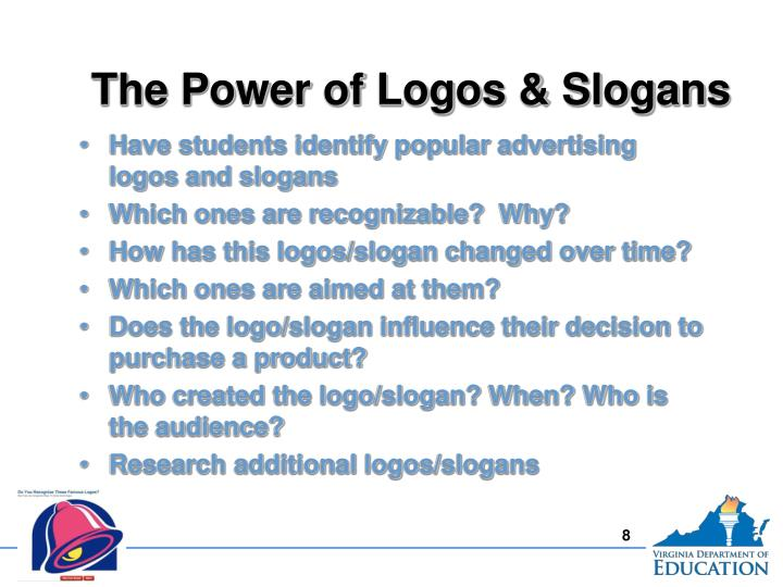 The Power of Logos & Slogans
