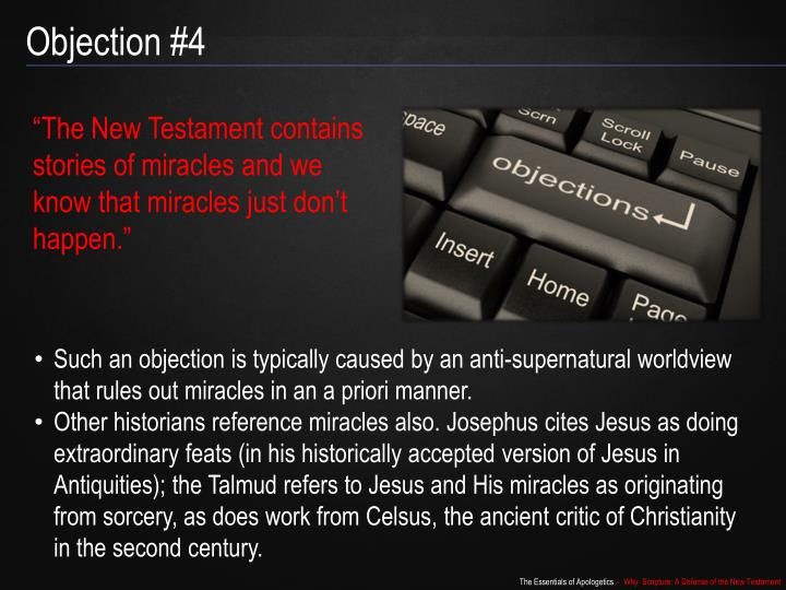 Objection #4