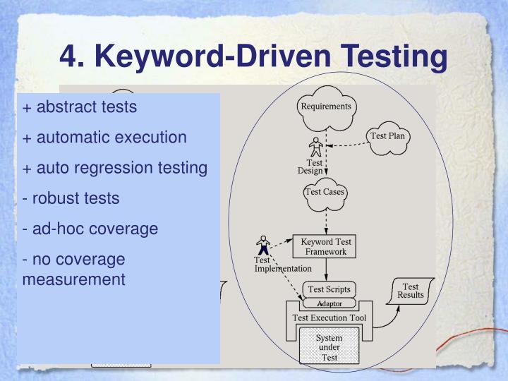 4. Keyword-Driven Testing