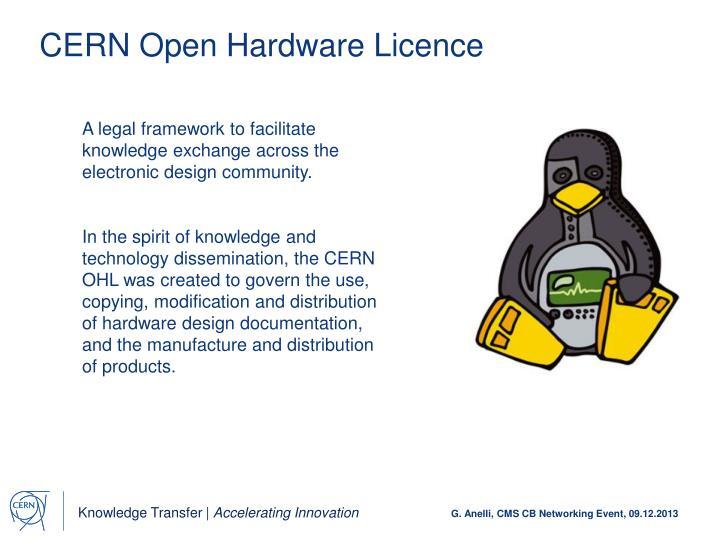 CERN Open Hardware
