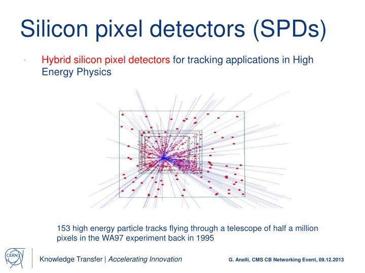 Silicon pixel detectors (SPDs)