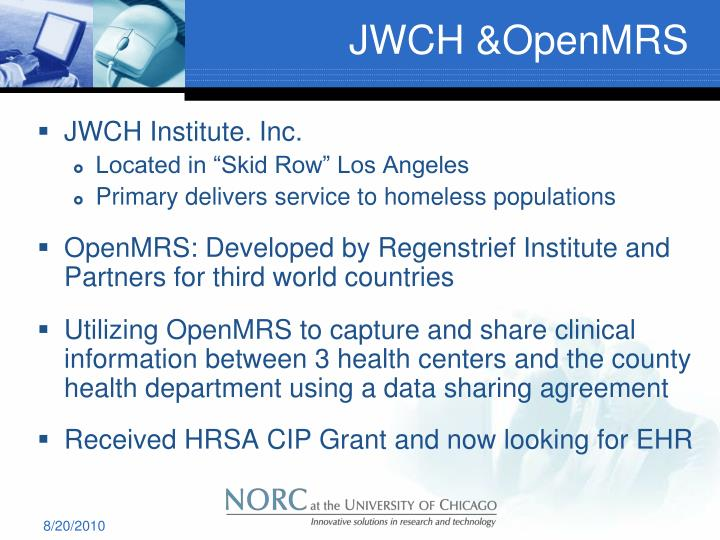 JWCH &OpenMRS