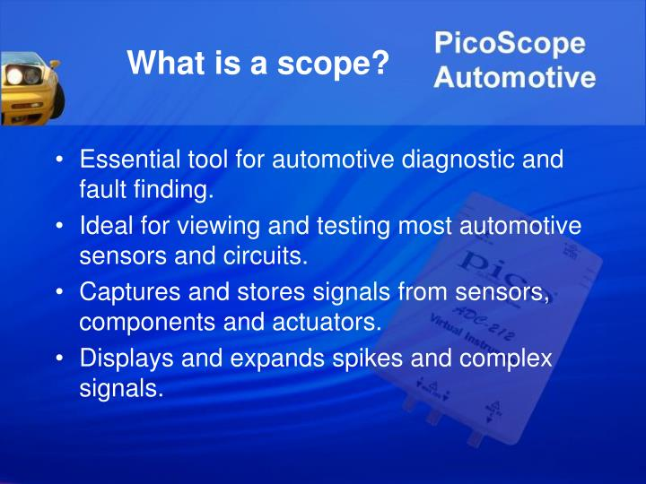 What is a scope