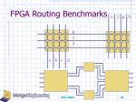 fpga routing benchmarks