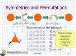 symmetries and permutations