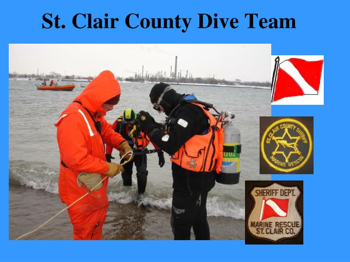St clair county dive team