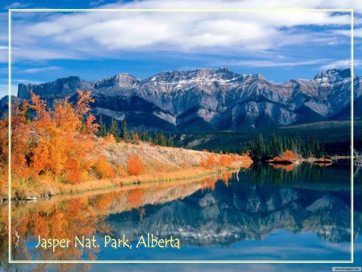 Jasper Nat. Park, Alberta