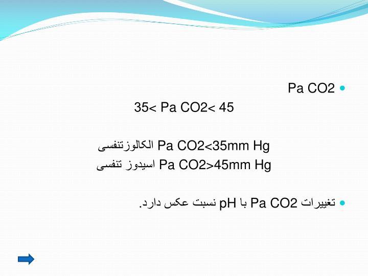 Pa CO2