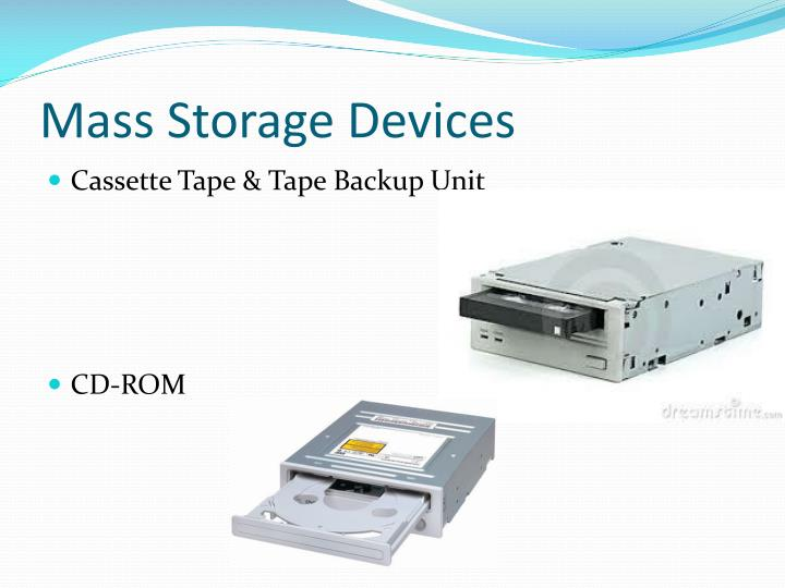 Mass Storage Devices