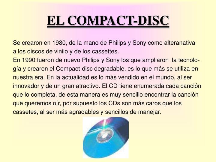 EL COMPACT-DISC