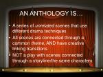 an anthology is