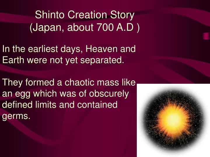 Shinto Creation Story
