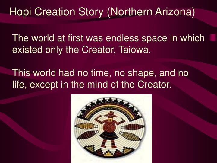 Hopi Creation Story (Northern Arizona)