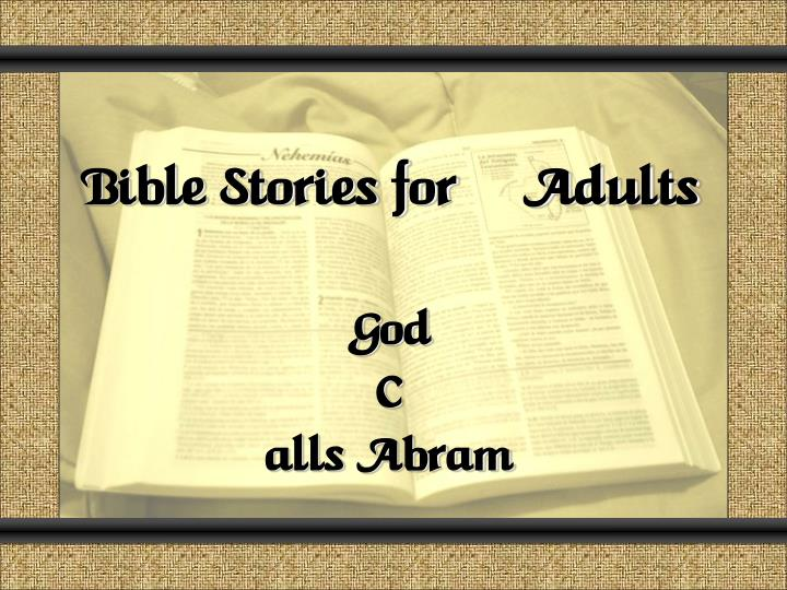 Bible group games for adults