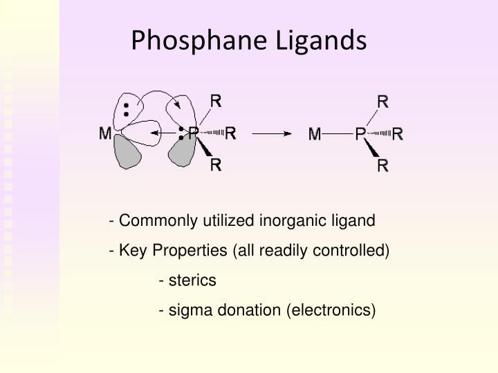 Phosphane Ligands