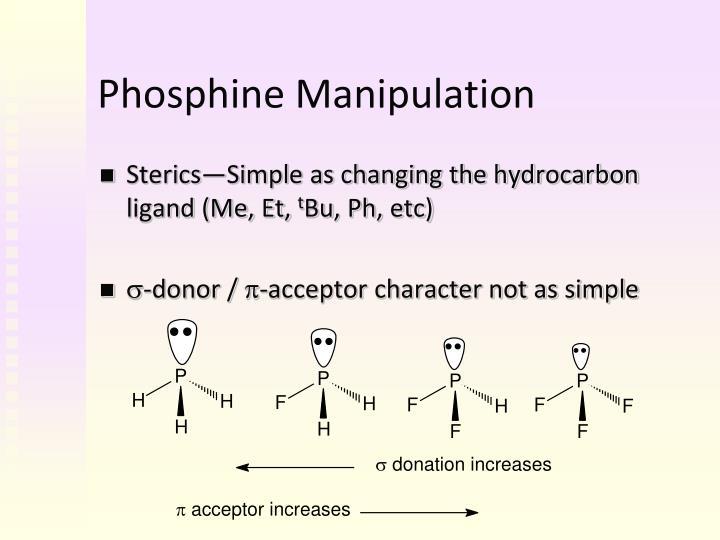 Phosphine Manipulation
