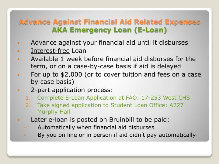 how to pay against an advance loan in quickbooks