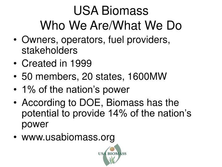 USA Biomass