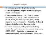 consiliul europei1
