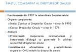 naltul comisariat al drepturilor omului